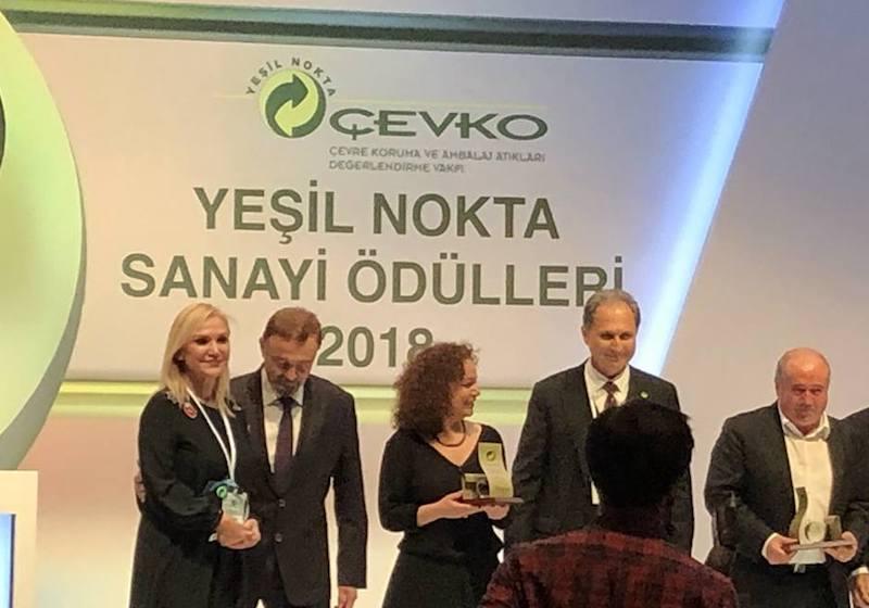 ÇEVKO Yeşil Nokta Basın Ödülü